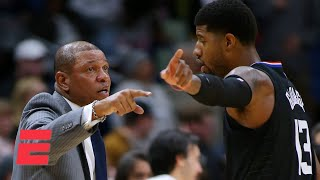 Why is Paul George publicly blaming Doc Rivers now? - Keyshawn Johnson   KJZ