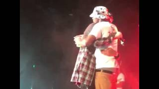 august alsina and travis nobody knows brotherly love ❤️ testimonytour