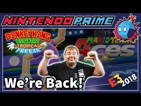 Tropical Freeze is Dominating in Japan, Mario Tennis Demo Details, & More   PRIME NEWS