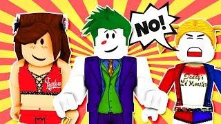 NIKKI BELLA DATES JOKER! Harley Quinn and The Joker Rebound Dating Roleplay! Roblox w/ Cybernova