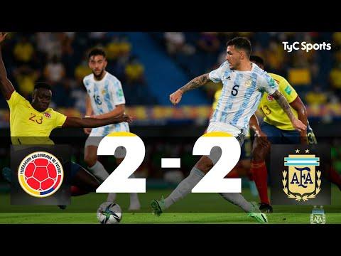 Colombia 2-2 Argentina | Eliminatorias a Qatar 2022 - Fecha 8