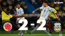 TyC-Sports-Colombia-2-2-Argentina-Eliminatorias-a-Qatar-2022-Fecha-8