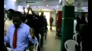 GeeWin Ministers at Glorious Christian Ministries NewDelhi India.wmv