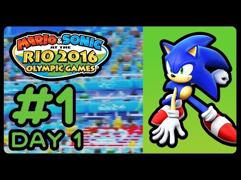 Mario & Sonic at the Rio 2016 Olympic Games (3DS) - Road to Rio - Part 1