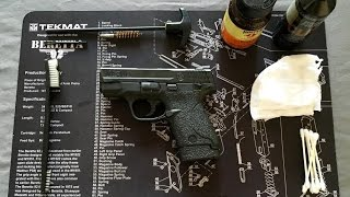 S&W M&P Shield 9mm | How to Properly Clean and Lubricate