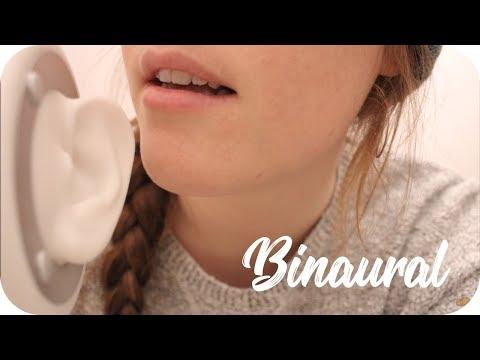 {BINAURAL ASMR} Tiptoe Tingles - German Word Assortment (p/s) - 3D Sound