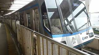 横浜市営地下鉄ブルーライン 3000R形3431F 新羽駅発車