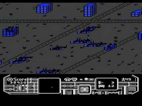 Atari 800 XL - Panther - Longplay to Survivor Unload