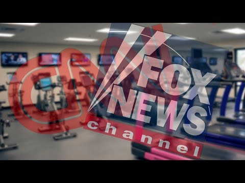 Gym Cuts Cable News