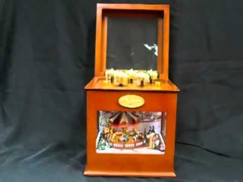 Animated Symphony Of Bells Musical Tabletop Decoration Custom Mrchristmas Animated Symphony Of Bells Music Box At The Shopping Design Ideas