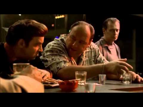 The Sopranos. Tony talks about the terrorism