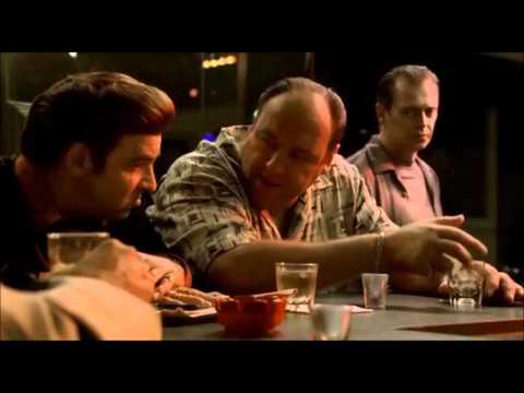 The Sopranos. Tony talks about the terrorism