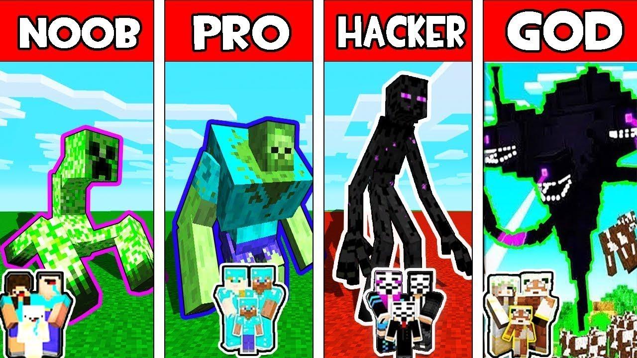 Minecraft NOOB vs PRO vs HACKER  ZOMBIE BASE DEFENSE CHALLENGE in minecraft  Animation ep 2