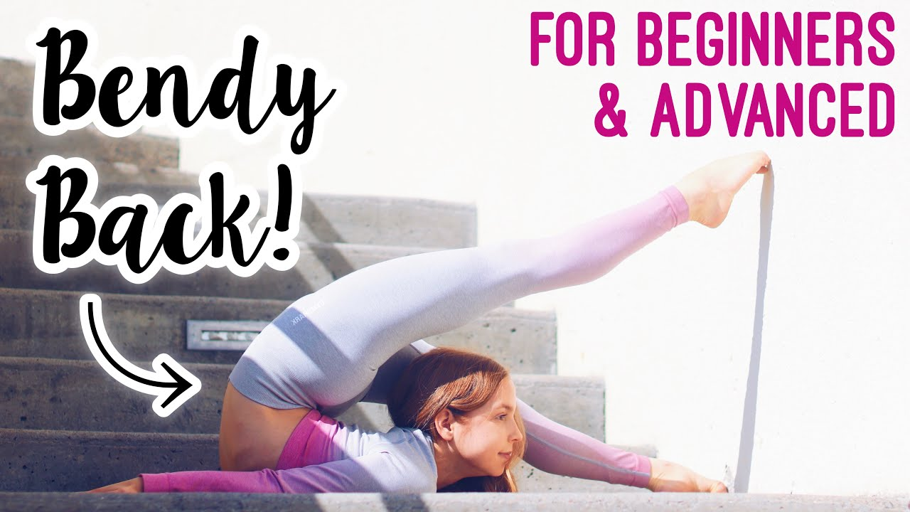 Download Get a Bendy Back Fast! Stretches for Back Flexibility