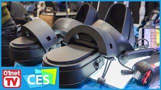 Taclim, les chaussures de réalité virtuelle - CES 2017