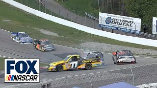 post race fights at nascar trucks race canadian tire motorsports park