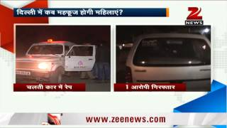 Three men rape woman in moving car in Delhi