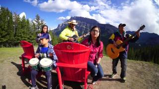Lenka - Trouble Is A Friend (acoustic outdoor cover 2015)