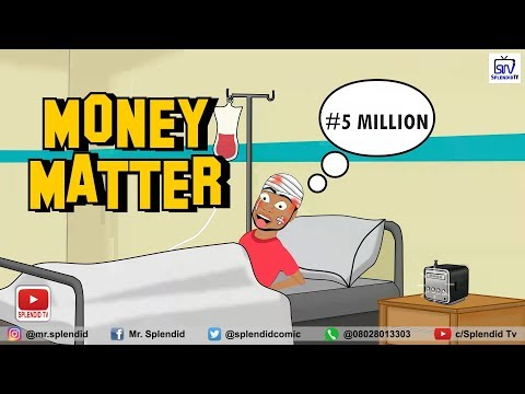 MONEY MATTER, COMEDY CARTOON