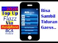- CARA TOP UP FLAZZ VIA MOBILE BANKING | CARA ISI FLAZZ BCA MOBILE BANKING