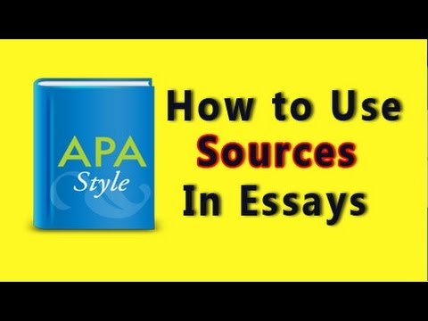 Apa Citationssample Research Paper  Youtube