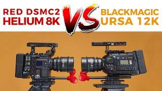 RED DSMC2 8K VS URSA 12k!! - Blackmagic URSA Mini Pro 12k Review