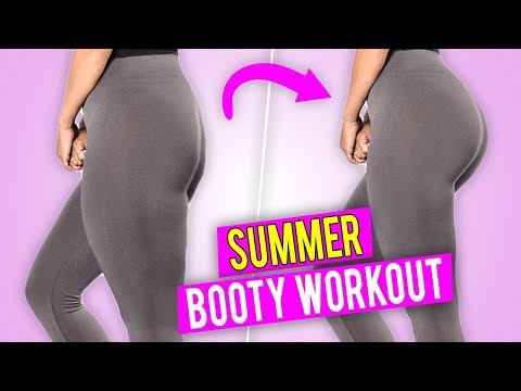 OFFICIAL SUMMER BOOTY WORKOUT // Glute Activation - 2018 Summer Shredding // No Equipment