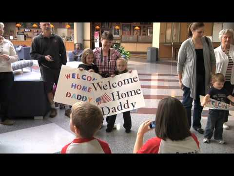Raw video: 29th ID Soldiers return to Virginia after duty in Afghanistan