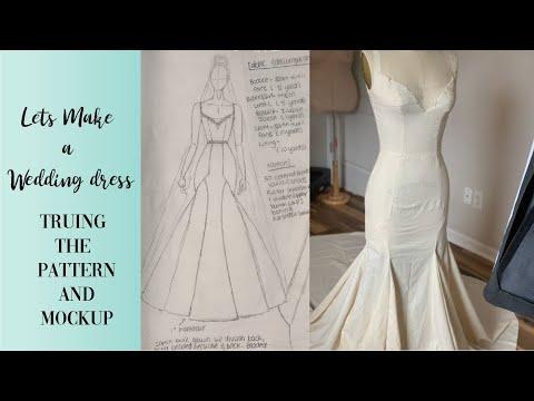 DIY Wedding Dress | Lets Make A Wedding Dress With A Godet 2