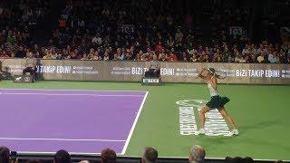 Maria Sharapova - Çağla Büyükakçay İstanbul TEB BNP Paribas Tennis Stars Match