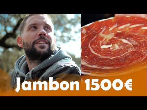Jambon à 12€ VS Jambon Millésimé à 1500€ à Séville !!! ( Et