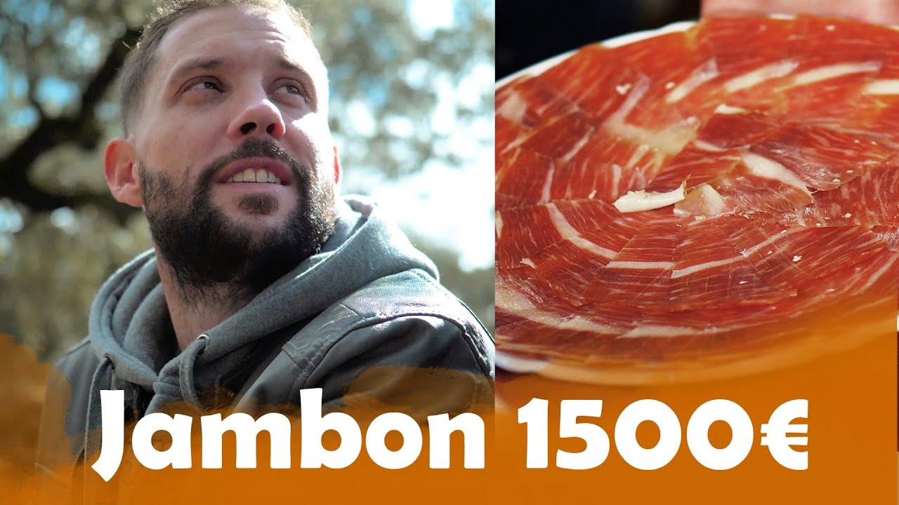 Jambon à 12€ VS Jambon Millésimé à 1500€ à Séville !!! ( Et c'est Juste Dingue )