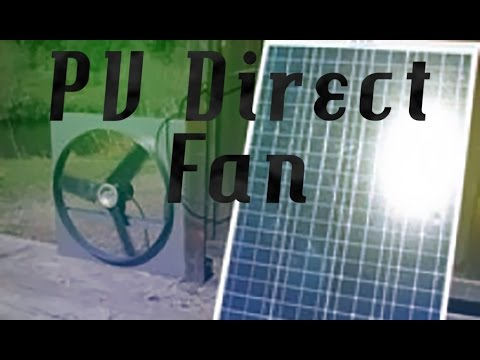 PV (solar)  Direct Fan