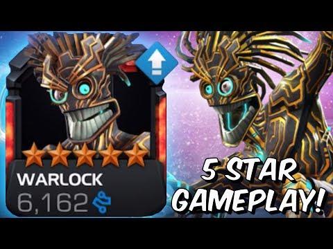 5 Star Warlock Rank Up & Gameplay! - Marvel Contest Of Champions