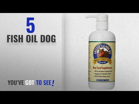 Top 5 Fish Oil Dog [2018 Best Sellers]: Grizzly Salmon Oil