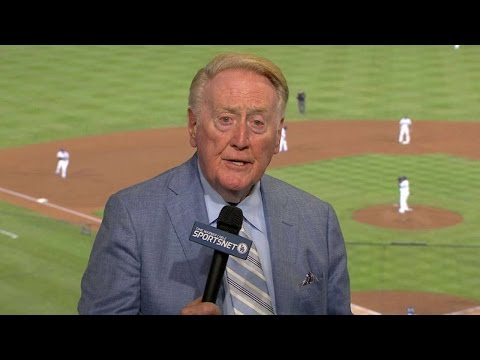 ARI@LAD: Scully on Maury Wills breaking Cobb