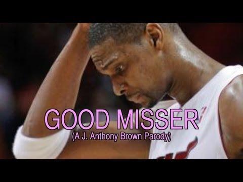 Usher KISSER Chris Bosh Parody (Good Misser)