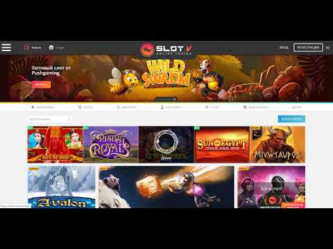 Обзор онлайн казино Slot V
