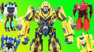 Transformers Robots in Disguise Big Bumblebee Adventure! Can Grimlock, Sideswipe or Ratchet help?