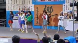 2014.08.05 生田神社大海夏祭 セトリ 1.YA・ME・TE! 2.きらめきシーサ...