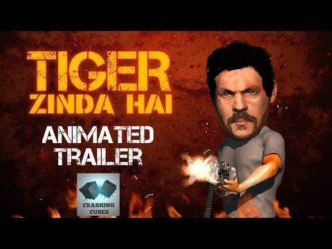 Tiger Zinda Hai Spoof | Animated Trailer |...