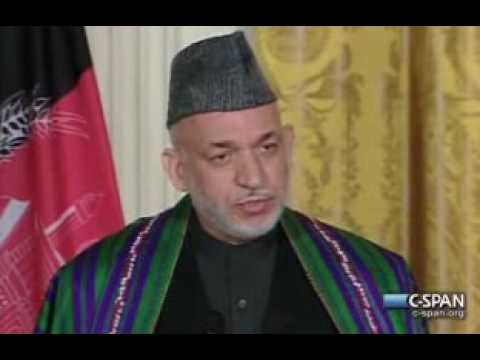 Pr. Obama w Pr. Karzai (3) of Afghanistan