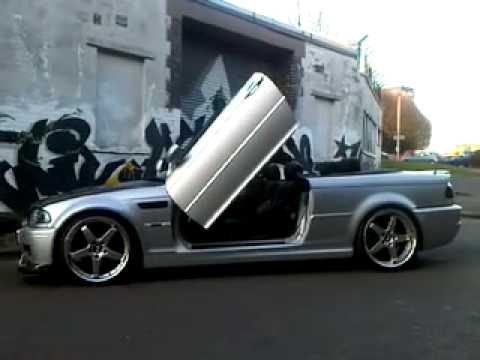 bmw m3 e46 smg carbon fibre lambo door youtube. Black Bedroom Furniture Sets. Home Design Ideas