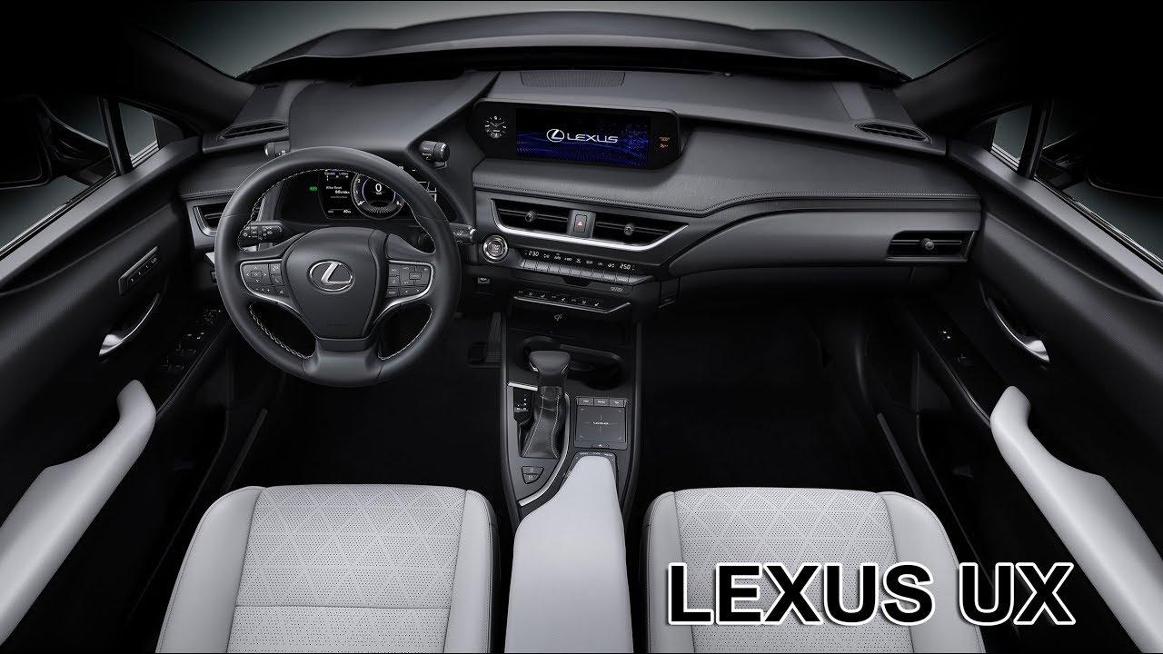 Inside Lexus Ux Interior