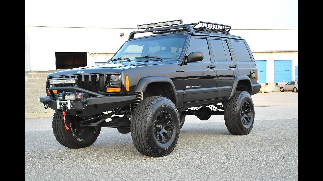 Davis Autosports Fully Built Stage 5 Lifted Cherokee Xj