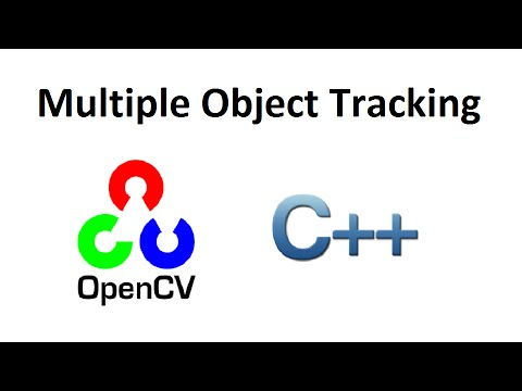 OpenCV 3 Multiple Object Tracking by Image Subtraction C++ full source code