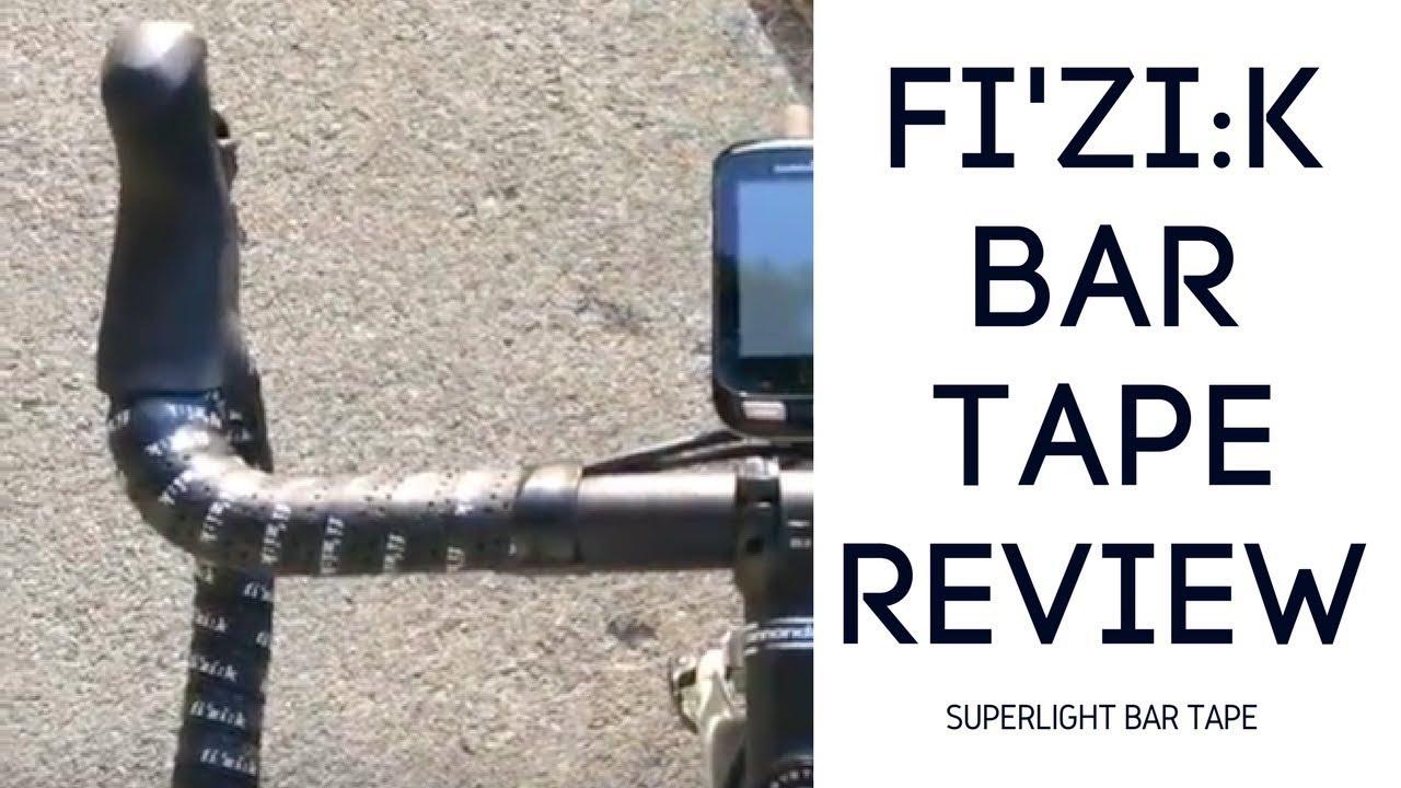 Fizik Superlight Glossy 2mm Bike Bar Tape With Logo