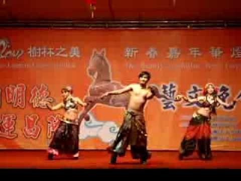 【Dustin's Tribal Dance】2014.02.11-2014年樹林區元宵節燈會