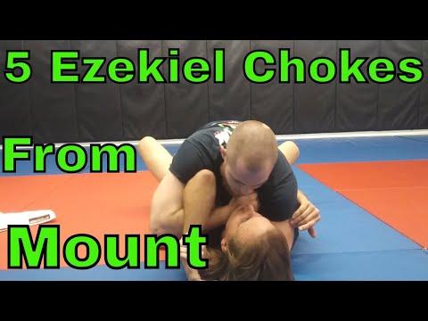 Five Ezekiel Chokes (From Mount)