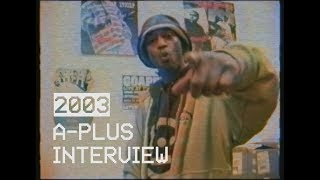 A-Plus on producing 93 Til Infinity and Full Circle LP